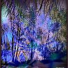 Mauve River by Angele Ann  Andrews