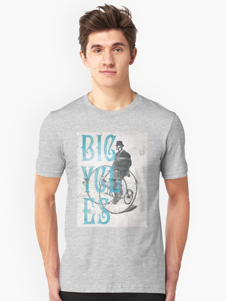 Penny Farthing Unisex T-Shirt Front