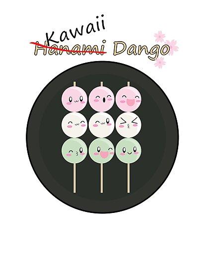 Kawaii Dango by AnimePlusYuma