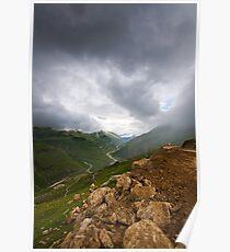 Monsoon in Himachal Pradesh, India Poster