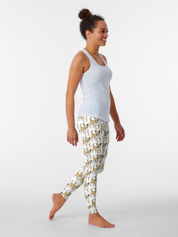 Alternate view of Chihuahua - Fawn Leggings