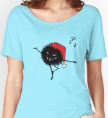 Evil Christmas Bug Women's Relaxed Fit T-Shirt