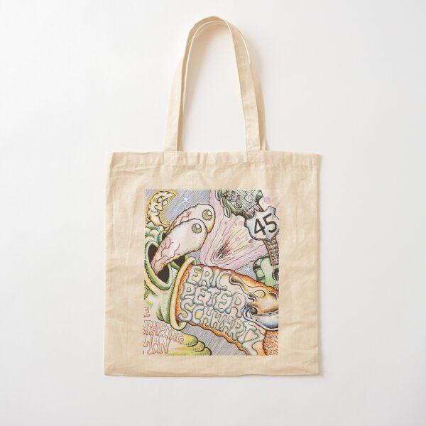 The Unraveling Man Cotton Tote Bag