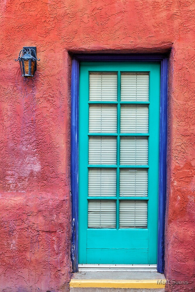 Blue door by Matt Suess