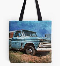 Old Chevy Pickup Tote Bag