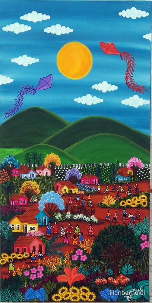 Kites Again by Lilian Bernoldi