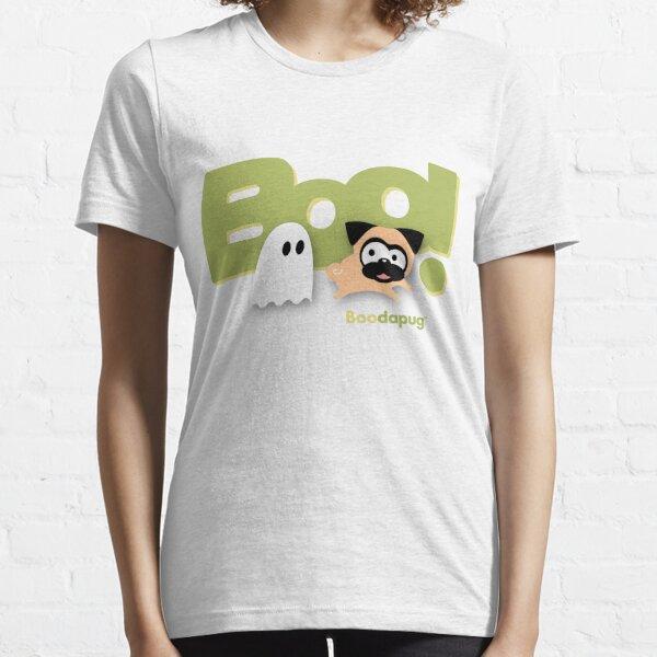 Tugg the Pug Boo! (Green) Essential T-Shirt