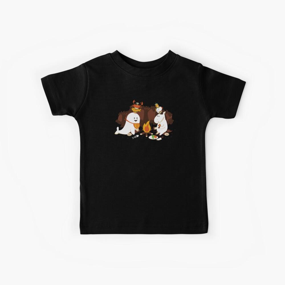 Horn Kabobs Kids T-Shirt