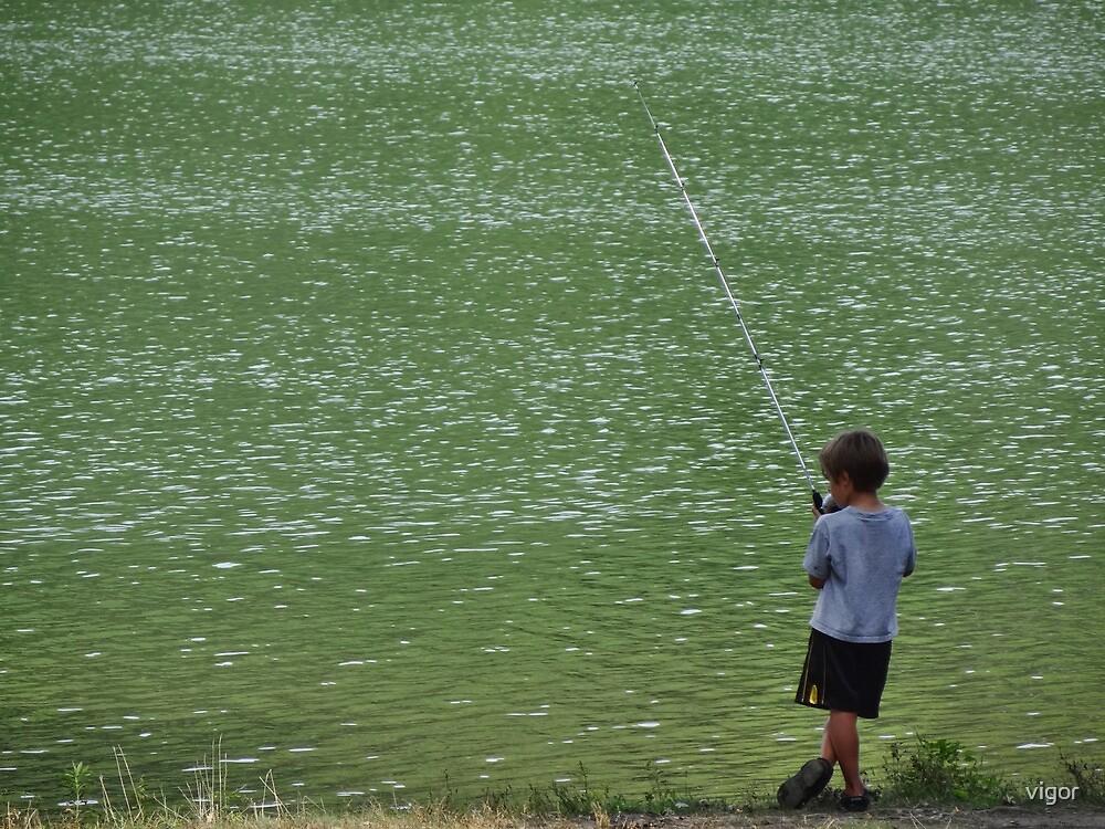 Little fisherman by vigor