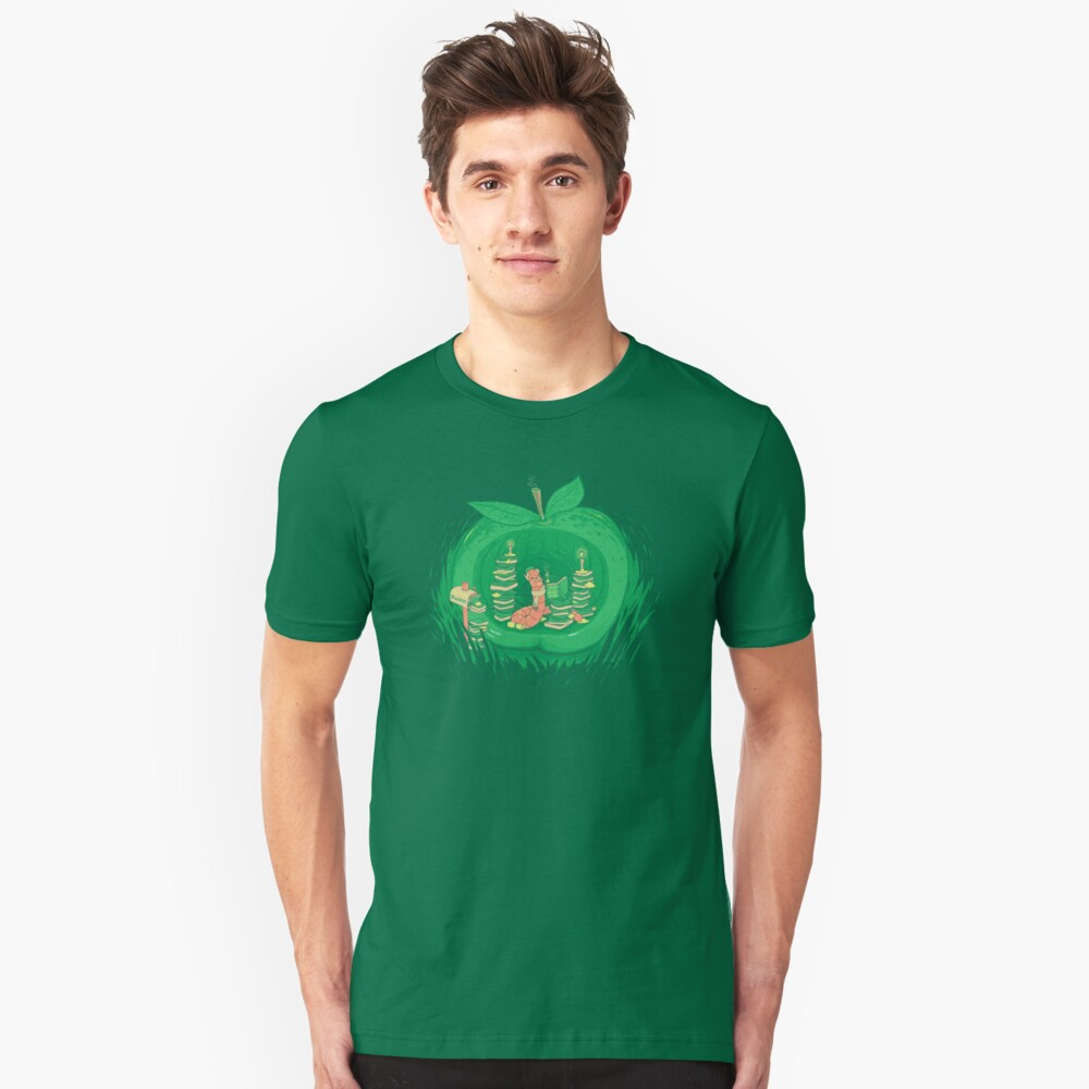 The Bookworm's Haven Slim Fit T-Shirt