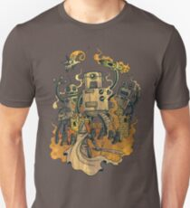 The Robots Come Out At Knight Slim Fit T-Shirt