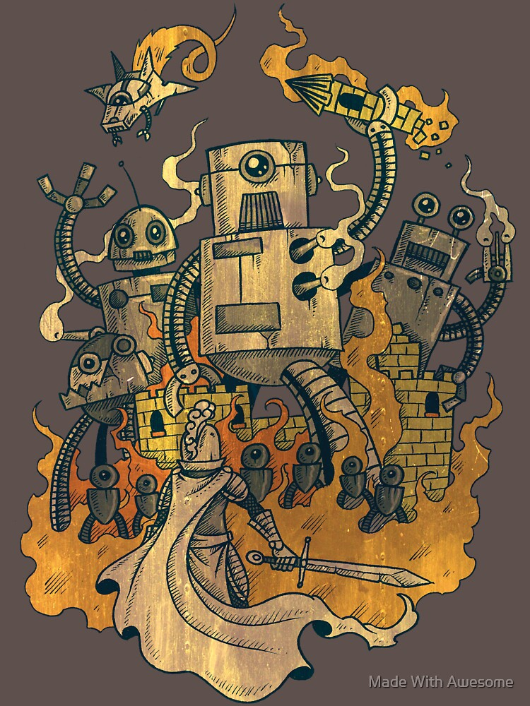 The Robots Come Out At Knight | Unisex T-Shirt