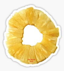 Pineapple Ring Sticker