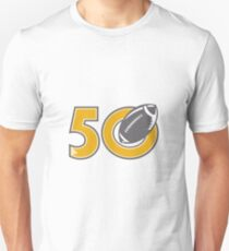 50 Pro Football Championship Ball T-Shirt