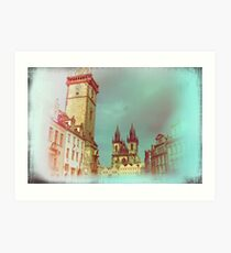 Prague in Spring Art Print