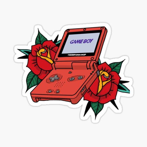 game boy advanced sp  Sticker