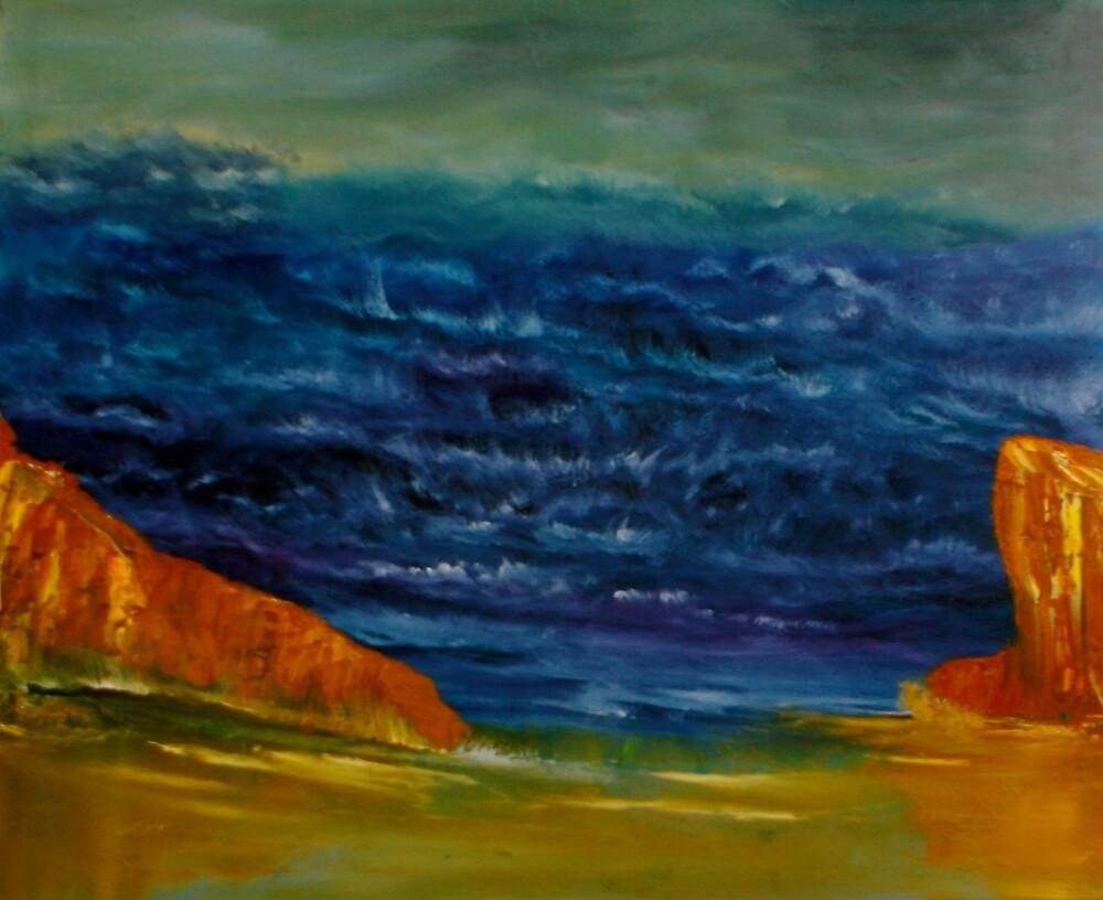 Dancing Waves by David Snider
