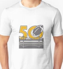 Pro Football Championship 50 Ball Bridge T-Shirt