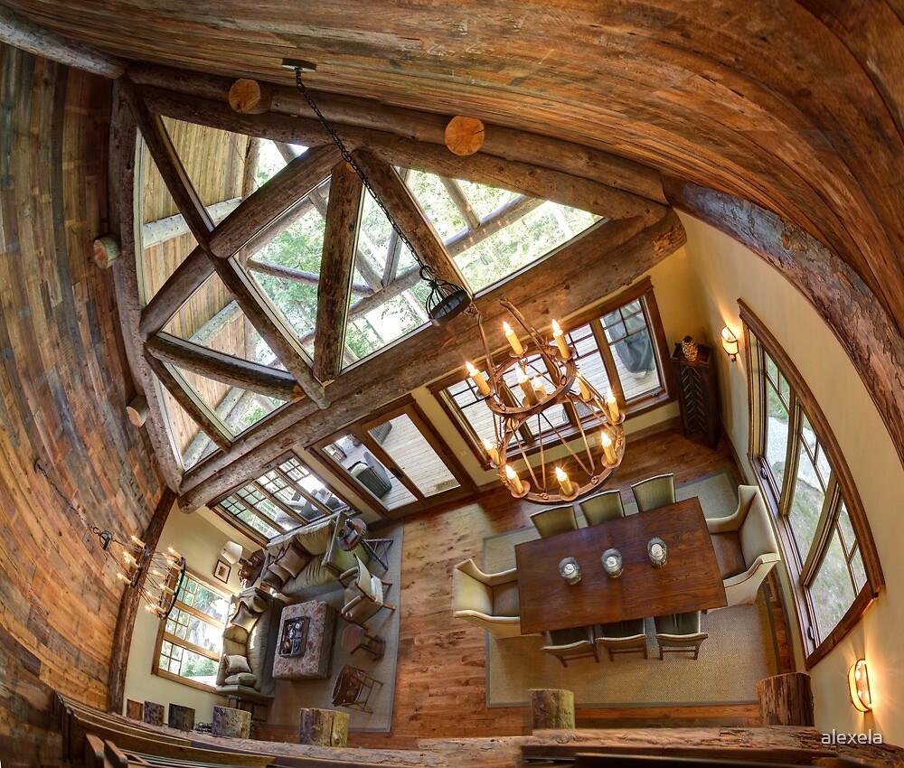 Log Cabin by alexela