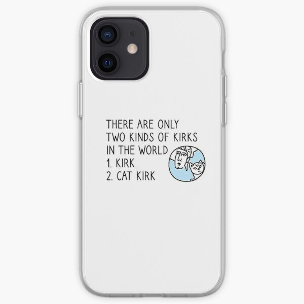 Kirk and Cat Kirk iPhone Soft Case