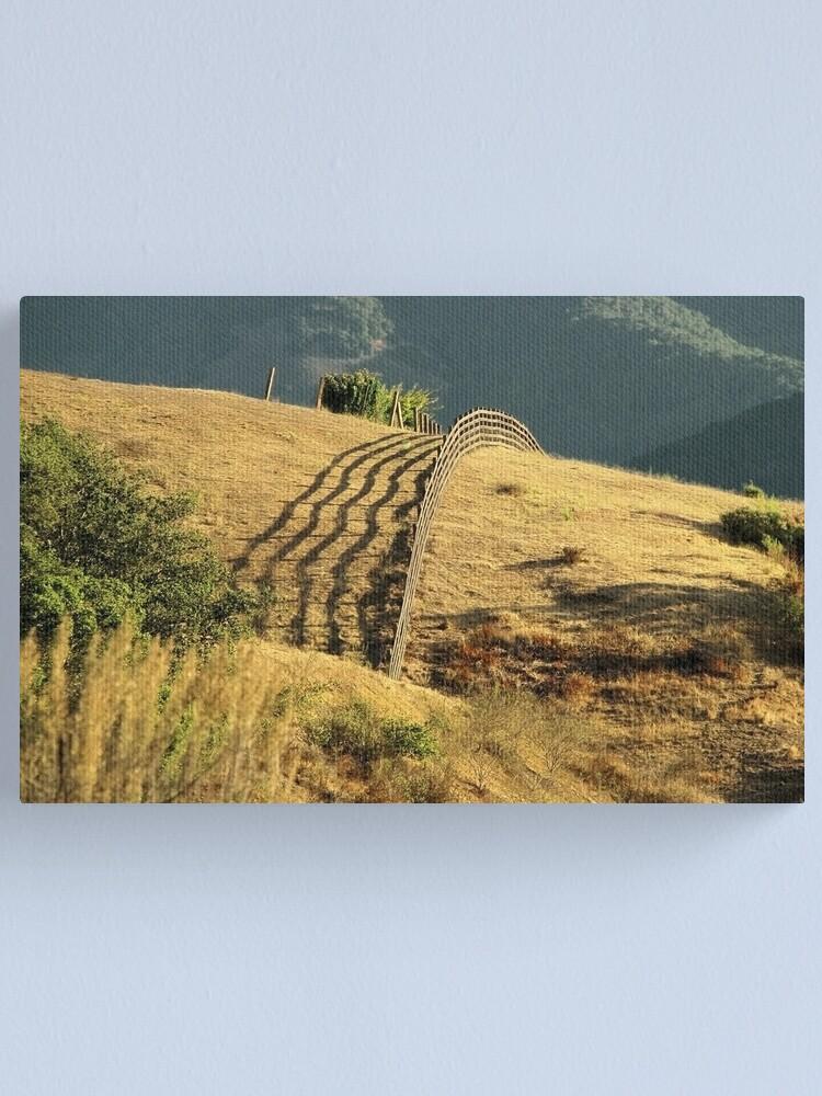 Alternate view of Monterey Hills 2 Canvas Print