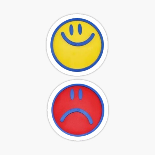 smiley patches Sticker