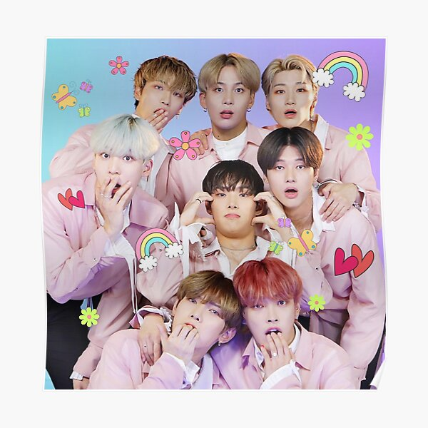 ATEEZ Cute Poster