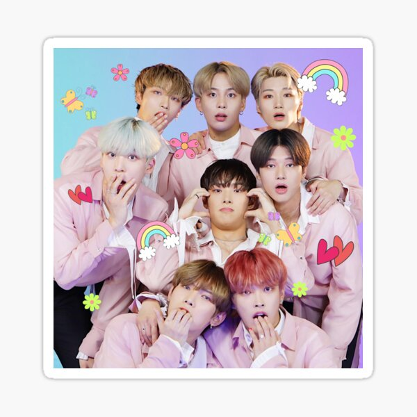 ATEEZ Cute Sticker