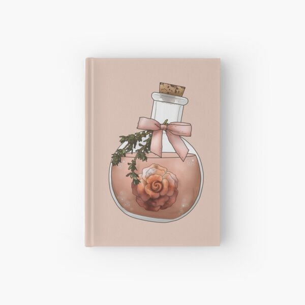 Potion of Beauty - Fantasy Potion Bottle Hardcover Journal
