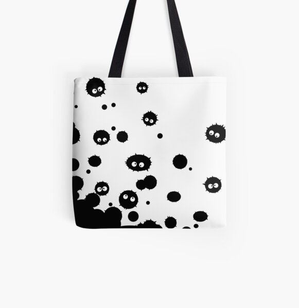 Soot Ball Invasion All Over Print Tote Bag