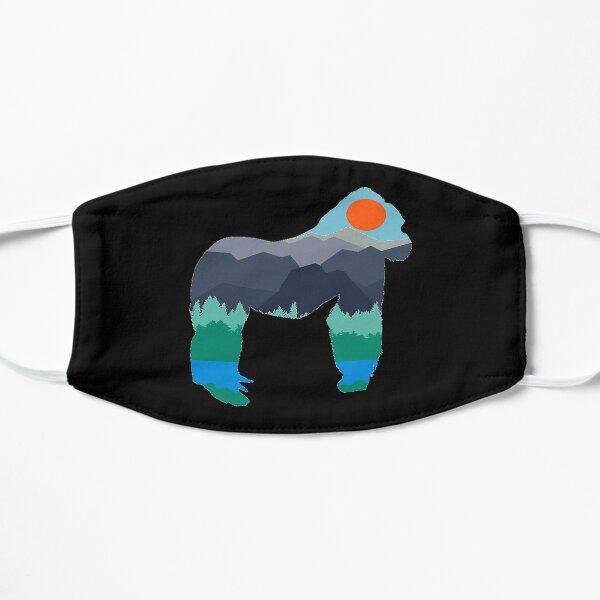 Gorilla Days Flat Mask