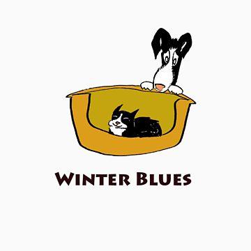Winter Blues by DankoSoroka