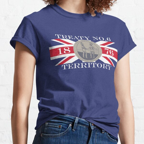 Treaty Six First Nations Flag Classic T-Shirt