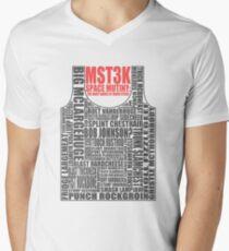 MST3K: The many names of David Ryder Men's V-Neck T-Shirt