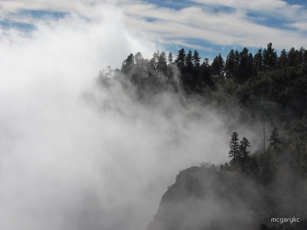 Mountain Cloud Cover by mcgarykc