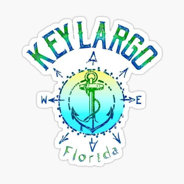 Key Largo Florida Pegatina