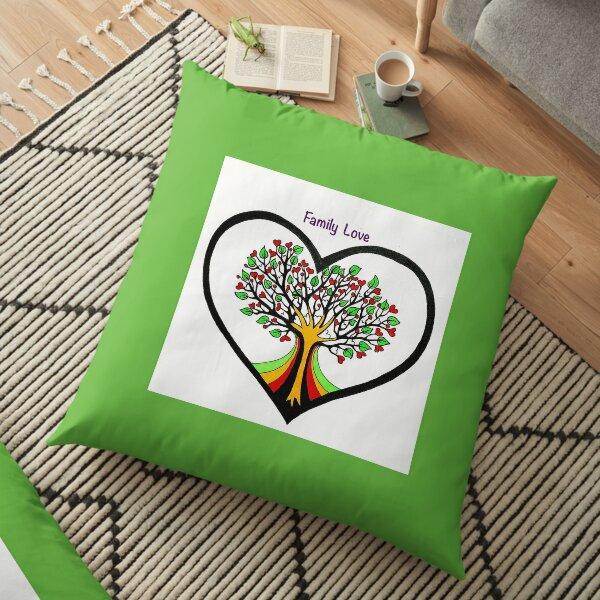 Family Love Floor Pillow