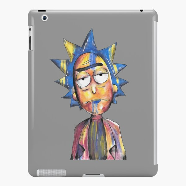 Rick And Morty - Colourful Rick iPad Snap Case