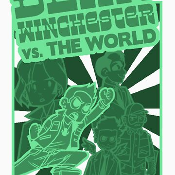 Dean Winchester vs. The World by ScarecrowArtist