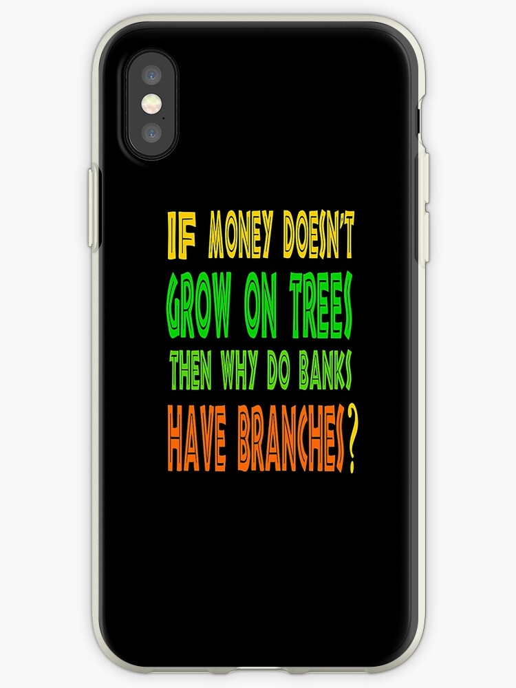 ㋡♥ټRandom Funny Bank Joke iPhone & iPad Casesټ♥㋡ by Fantabulous