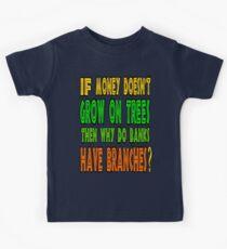 ㋡♥ټRandom Funny Bank Joke Clothing & Stickersټ♥㋡ Kids Tee