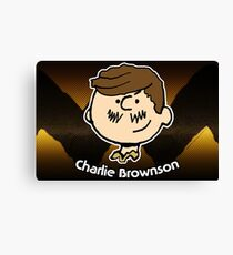 Charlie Brownson (Print Version) Canvas Print