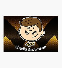 Charlie Brownson (Print Version) Photographic Print