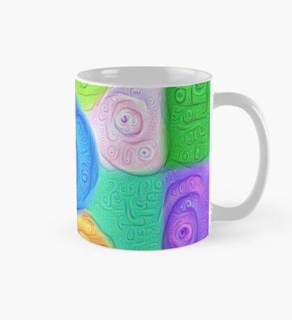 DeepDream Color Squares Visual Areas 5x5K v17 Mug