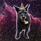 my dog in space by Tara Lea
