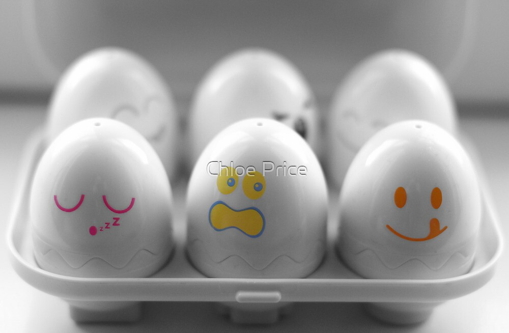 Cheeky Eggs! by Chloe Price