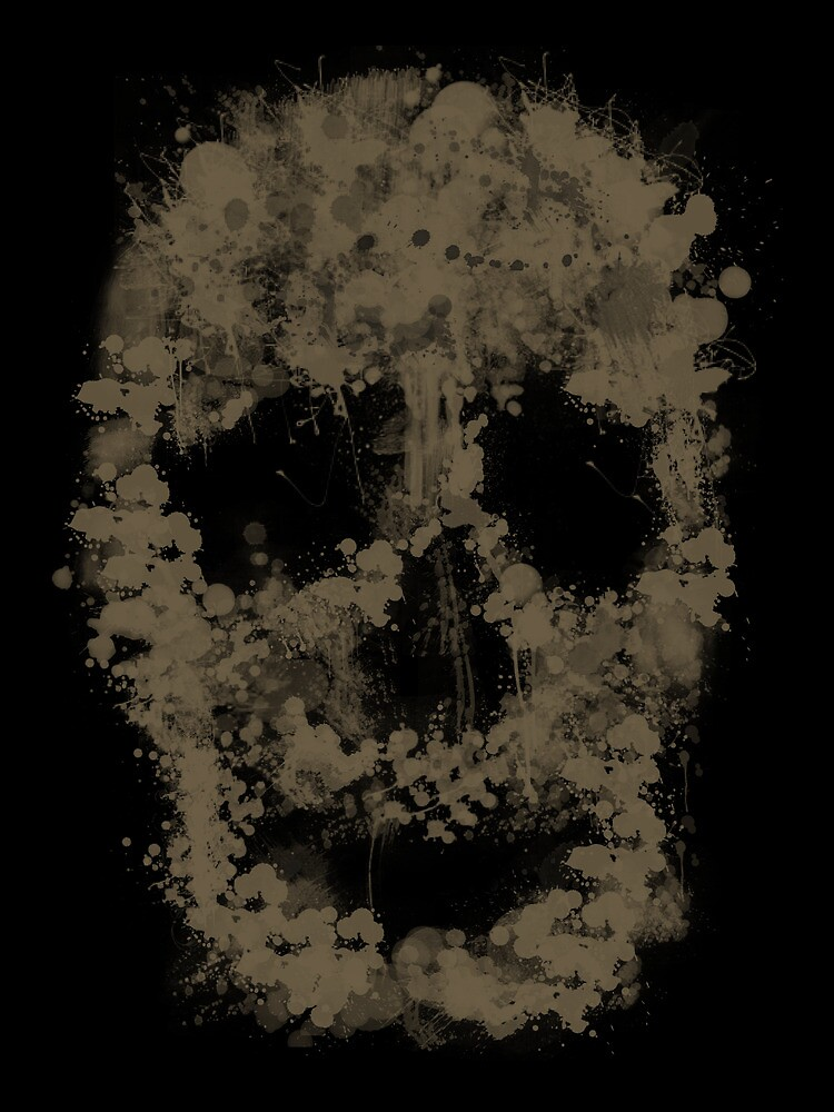 Splatter Skull Prints by Bela-Manson