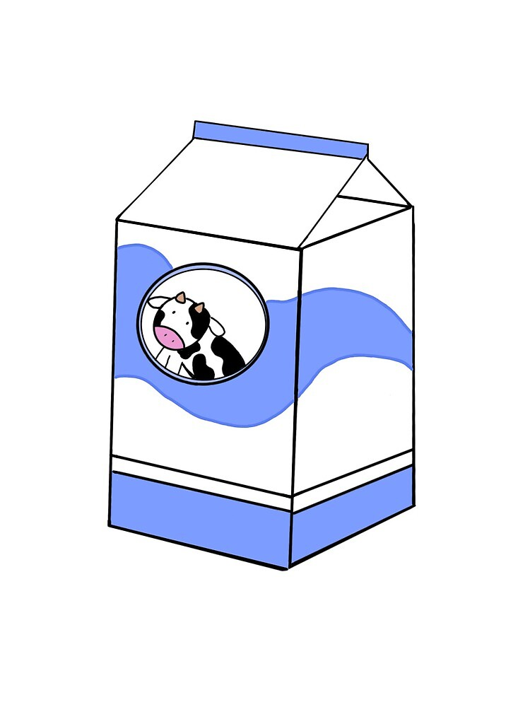 "Milk carton-cartoon art"" Greeting Card by tinysnowdrop | Redbubble"