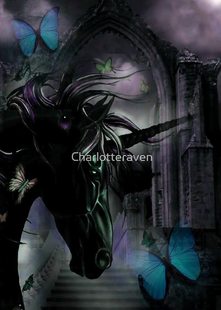 Butterfly unicorn. by Charlotteraven