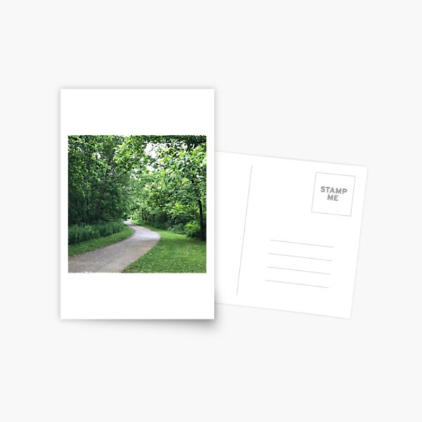 Walk in the Park, Feng Shui Fix for Life Area 1 Missing (Career) Postcard